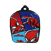 Spiderman 'Abstract' Pv School Bag Rucksack Backpack
