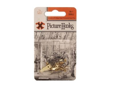 Shaw No1 Picture Hooks Small Blister