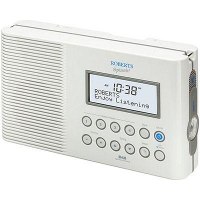 Roberts SPLASH DAB/FM RDS Digital All Weather Radio
