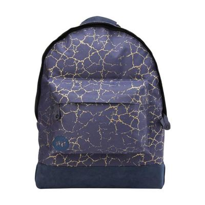 Children's Mi Pac Backpack - Cracked Navy & Gold, Children's Backpacks, Boy's Backpacks