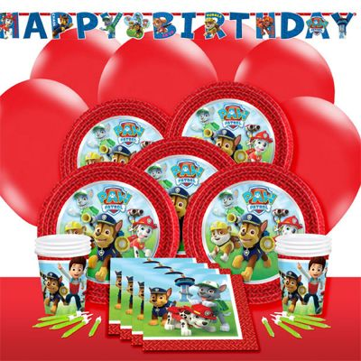 Paw Patrol Deluxe Party Pack for 8