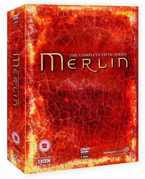 Merlin Series 5 Complete (DVD Boxset)