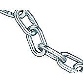 Faithfull Zinc Plated Chain 2.5mm x 30m Reel - Max Load 50kg