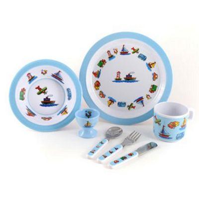 Children's Melamine Dinner Set - Transport