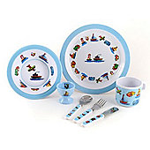"""MELAMINE SET - Trucks, Boats & Planes"""