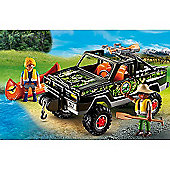Playmobil 5558 Wildlife Adventure Tree House Pickup Truck