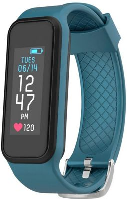 Archon Move Blue Smart Fitness Wristband with OLED Touchscreen
