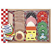 Melissa & Doug Play House - Food Sandwich Set