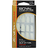 Royal Strong & Resilient Glue On Nails Regular