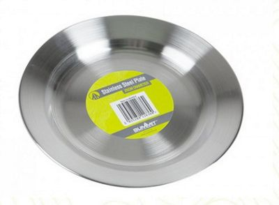 Summit 24.5cm Stainless Steel Plate/ Bowl