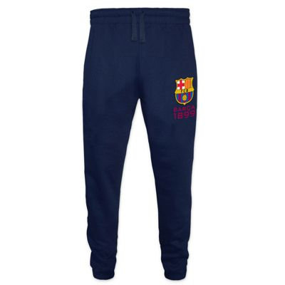 FC Barcelona Mens Slim Fit Jog Pants Navy XXL