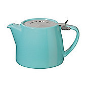Forlife Stump Infuser Teapot 13oz in Turquoise