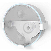 ValuConnect Wall Bracket for Amazon Echo Dot - White