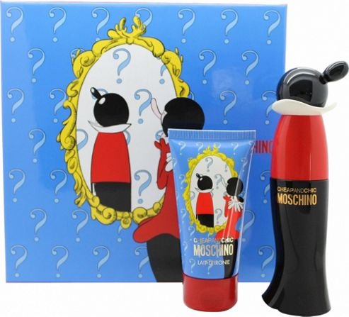 Moschino Cheap & Chic Gift Set 30ml EDT + 50ml Body Lotion For Women
