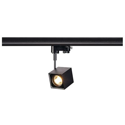 Altra Dice Spotlight Square Black Max. 50W Including 3 Circuit Adaptor