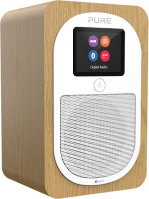 Pure Evoke H3 DAB/FM/Bluetooth Radio (Oak)
