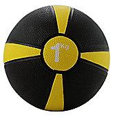 Fitness Mad Apollo Medicine Ball Yellow Stripe 1Kg