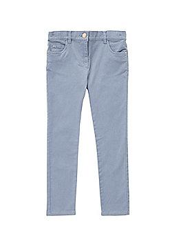 F&F Twill Trousers - Pale blue