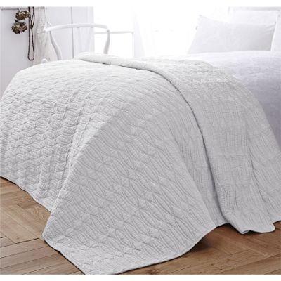 Bianca Simplicity Cotton Soft Cream Bedspread