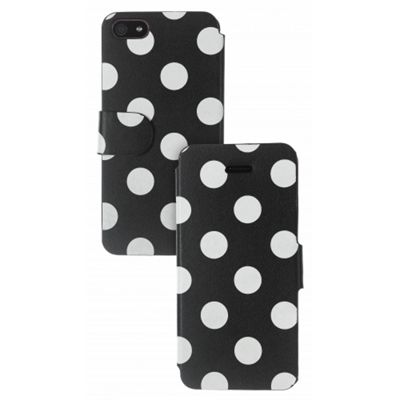 Trendz iPhone 5 Folio Case Polka Dot