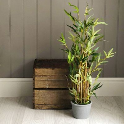 Artificial Bamboo Potted Plant