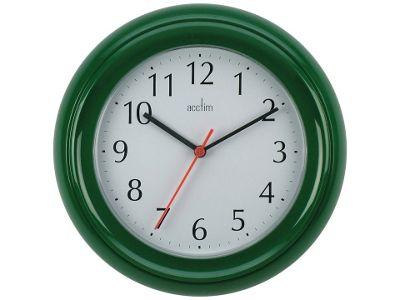 Acctim 21415 Wycombe Wall Clock Green