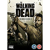 The Walking Dead Season 1-4 (DVD)