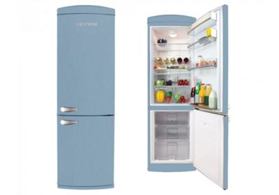 Servis C90185P Pastel Blue Retro Fridge Freezer
