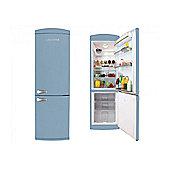 Servis C90185P Pastel Blue Retro Fridge Freezer