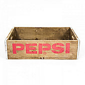 Cult Living Pepsi Vintage style Crate Brown