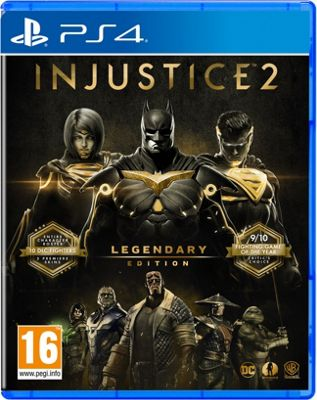 Injustice 2: Legendary Edition- PS4