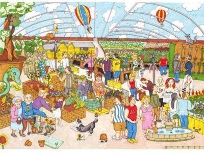 Garden Follies - 1000pc Puzzle
