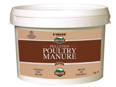 Vitax Pelleted Poultry Manure 7Kg