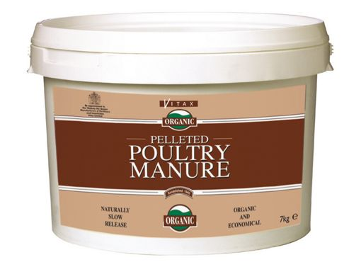 Vitax Pelleted Poultry Manure 7Kg