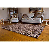 Pebble Felt Brown Rug - 140x200cm