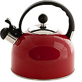 Sabichi Whistling 2.5L Red Kettle