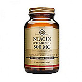 Solgar Niacin 500mg Vegicaps 100
