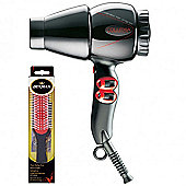 Collexia CHP Compact 2000W Hair Dryer plus Free Denman Brush