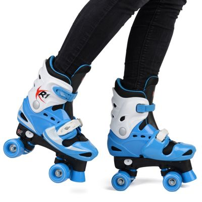 Loch Boys' Adjustable Roller Skates UK 1-2