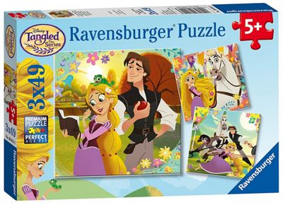 Ravensburger Disney Tangled Jigsaw Puzzles - 3 x 49 Pieces