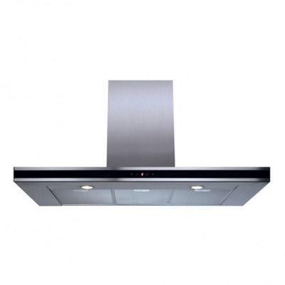 CDA EVP101SS Linear 100cm Wide Slim Cooker Hood - Stainless Steel Chimney