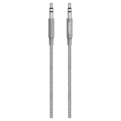Belkin MIXIT Metallic 4ft/1.2m AUX Cable - Grey