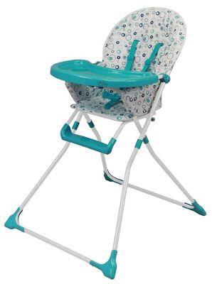 Bebe Style Foldable EZ 123 Baby Highchair - Blue