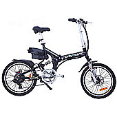 Cyclamatic Cx4 Pro Dual Suspension Foldaway Electric Bike / Ebike Black