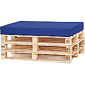 Water Resistant Pallet Seat Cushion - Royal