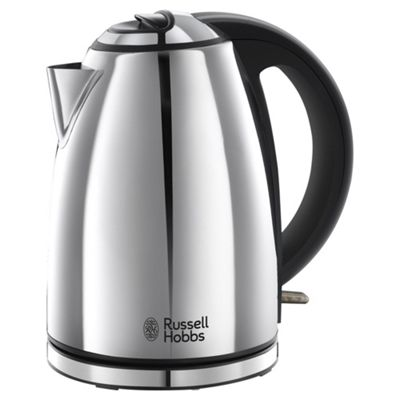 Russell Hobbs Henley 23601 Kettle, 1.7 L - Polished Steel