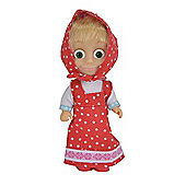 Masha and The Bear Figure - Masha with Polkadot Dress