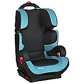 Hauck Bodyguard Plus High Back Booster Car Seat without harness, Group 2-3, Black/Aqua