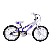 "Ammaco Misty 18"" Wheel BMX Girls Bike"