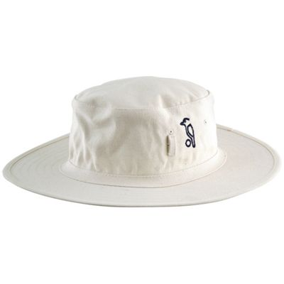 Kookaburra Cricket Sun Hat Neutral Comfortable Wide Brim Towel Band Small